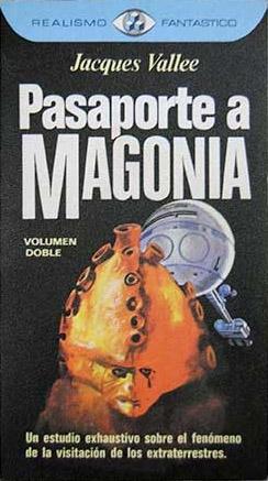 Portada Pasaporte a Magonia - Realismo Fantastico